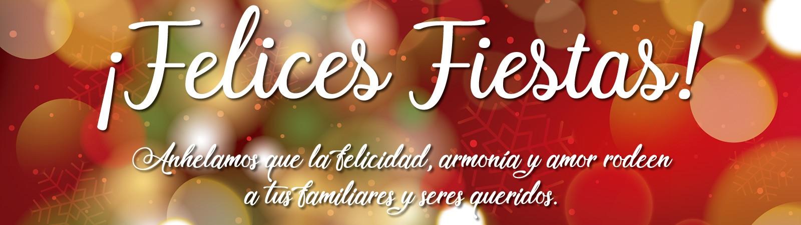 Banner relativo a las Fiestas decembrinas 2018