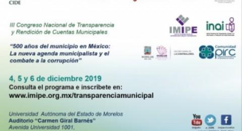 """<a href=""""/morelos-sera-sede-del-congreso-nacional-de-transparencia-y-rendicion-de-cuentas-municipales"""">Morelos será sede del Congreso Nacional de Transparencia y Rendición de Cuentas Municipales</a>"""