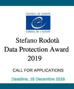 Banner para participar por el premio Stefano Rodotá