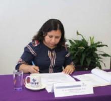 Comisionada presidenta Mireya Arteaga Dirzo