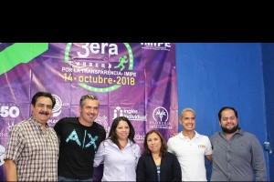 Llevará a cabo el IMIPE Tercera Carrera por la Transparencia en conjunto con el Ayuntamiento de Cuernavaca