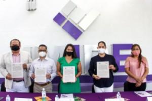 Firma IMIPE carta compromiso por la Transparencia con Conalep