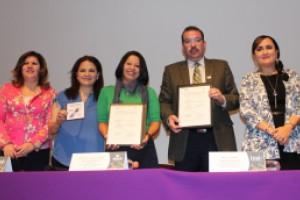 Firma el IMIPE convenios de colaboración con ESAF Morelos  e Instituto de Transparencia de Zacatecas