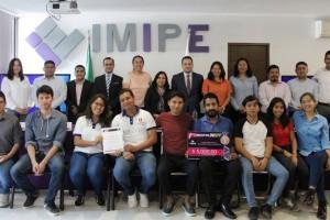 Premia el IMIPE a ganadores del Concurso IMIAPP