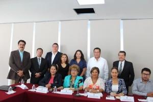 Pleno del IMIPE asiste como invitados de honor a las instalaciones de las comisiones del H. Congreso del Estado de Morelos