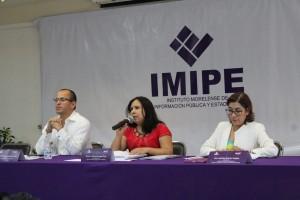 Presenta el IMIPE, junto a la Comisión de Derechos Humanos y el INAI, Protocolo Para el Tratamiento Digno de Restos Humanos e Información de Personas Fallecidas