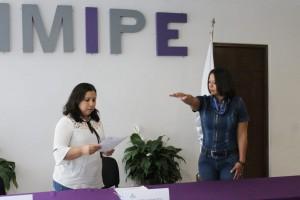 Asume la comisionada Dora Ivonne Rosales la presidencia del IMIPE