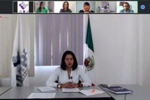 Participa IMIPE en Encuentro Virtual de la Región Centro del Sistema Nacional de Transparencia