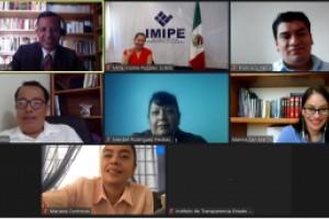 Participan servidores públicos del centro del país en capacitaciones virtuales sobre archivos